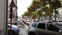 A Villeneuve-sur-Lot, concert de klaxons et opération escargot contre la Loi Travail
