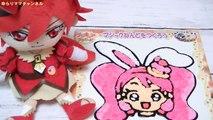 キュアショコラ と マジック ねんど を つくろう❤ キュアホイップ の お顔 が ! キラキラ☆プリキュアアラモード おもちゃ 人形劇 Precure Alamode