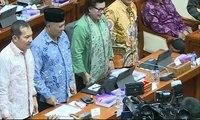 RDP Komisi III DPR dan KPK Dihujani Interupsi