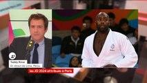 #Paris2024 Teddy Riner envisage de concourir aux JO2024