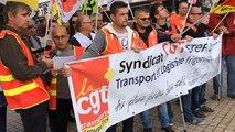 Manifestation intersyndicale de rentrée