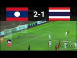 U18 Thailand vs U18 Laos 2-1 AFF U18 Highlighs&Goals 06.09.2017
