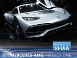 Mercedes-AMG Project One en direct du Salon de Francfort 2017