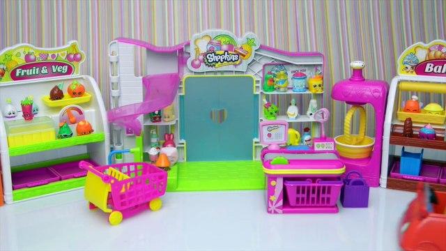 Peppa Pig Video - Peppa and George go Shopkin Shopping new - Kids Toys Story