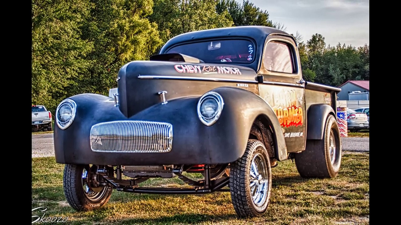 Straight Axle Trucks And Gassers- Gasser Drag Trucks And Straight Axle Drag Trucks