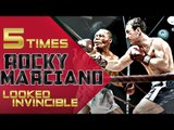 5 Times Rocky Marciano Looked Invincible