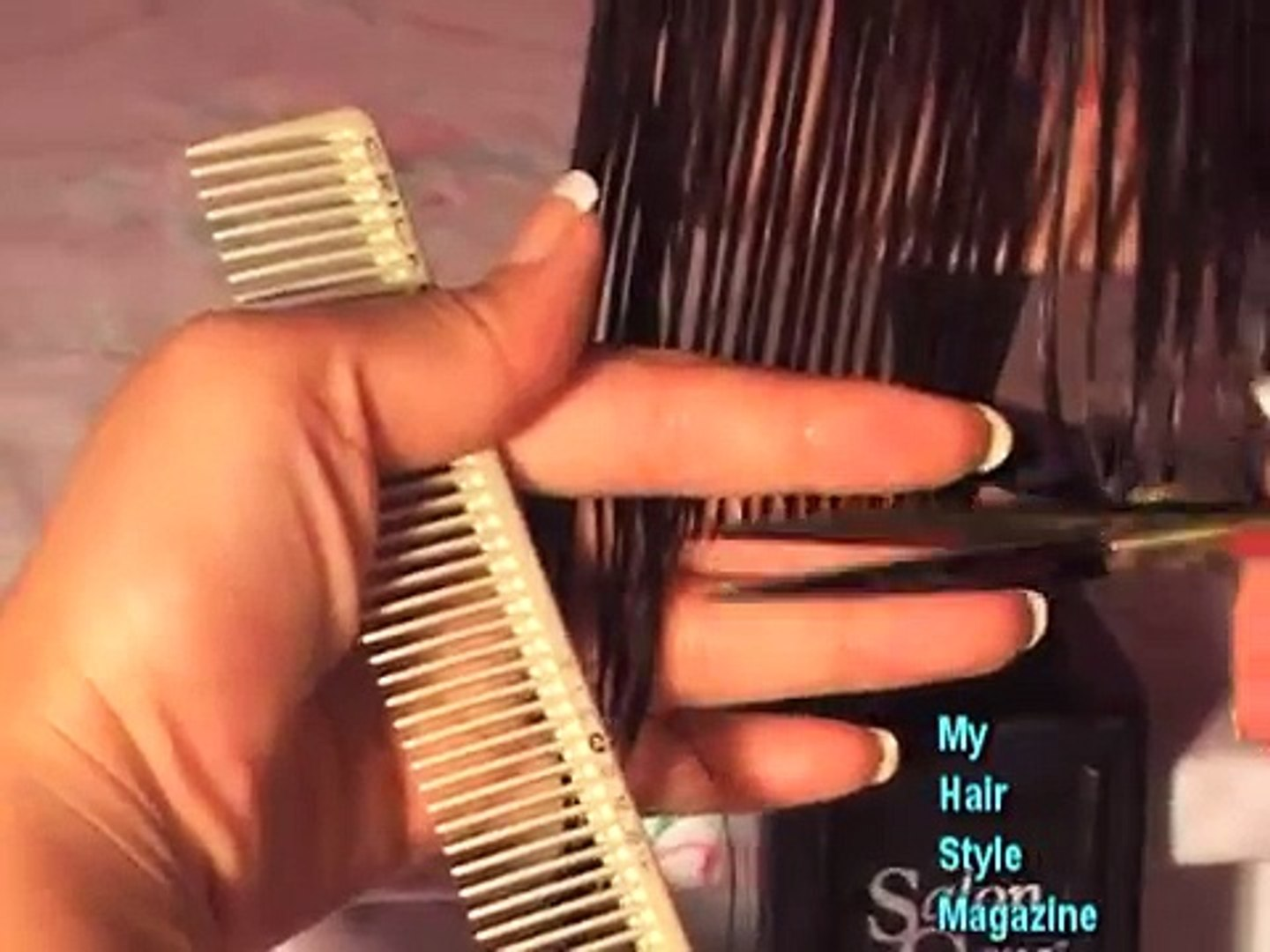 (Part 10 of 10) How to CUT and STYLE your HAIR like LISA RINNA Haircut  Hairstyle Tutorial layered shag