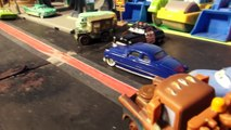 Disney Pixar Cars Lightning McQueen , Lizzies Wedding with William and Mater