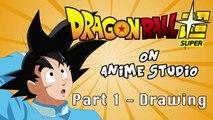 How to Create Anime - Goku Anime Studio Tutorial - Part 1