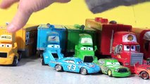 Disney Pixar Cars New Hauler Launching with Lightning McQueen, Mack , Mater and the Hot Wh