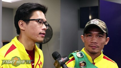 """Sor Rungvisai not surprised w/KO of Chocolatito """"I proved to the world I can beat the best guy!"""""""