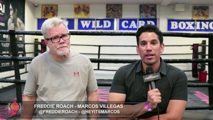 """FREDDIE ROACH """"GREAT END TO COTTO'S CAREER IF HE FIGHTS CANELO/GGG WINNER! HE CAN WIN THAT FIGHT!"""""""