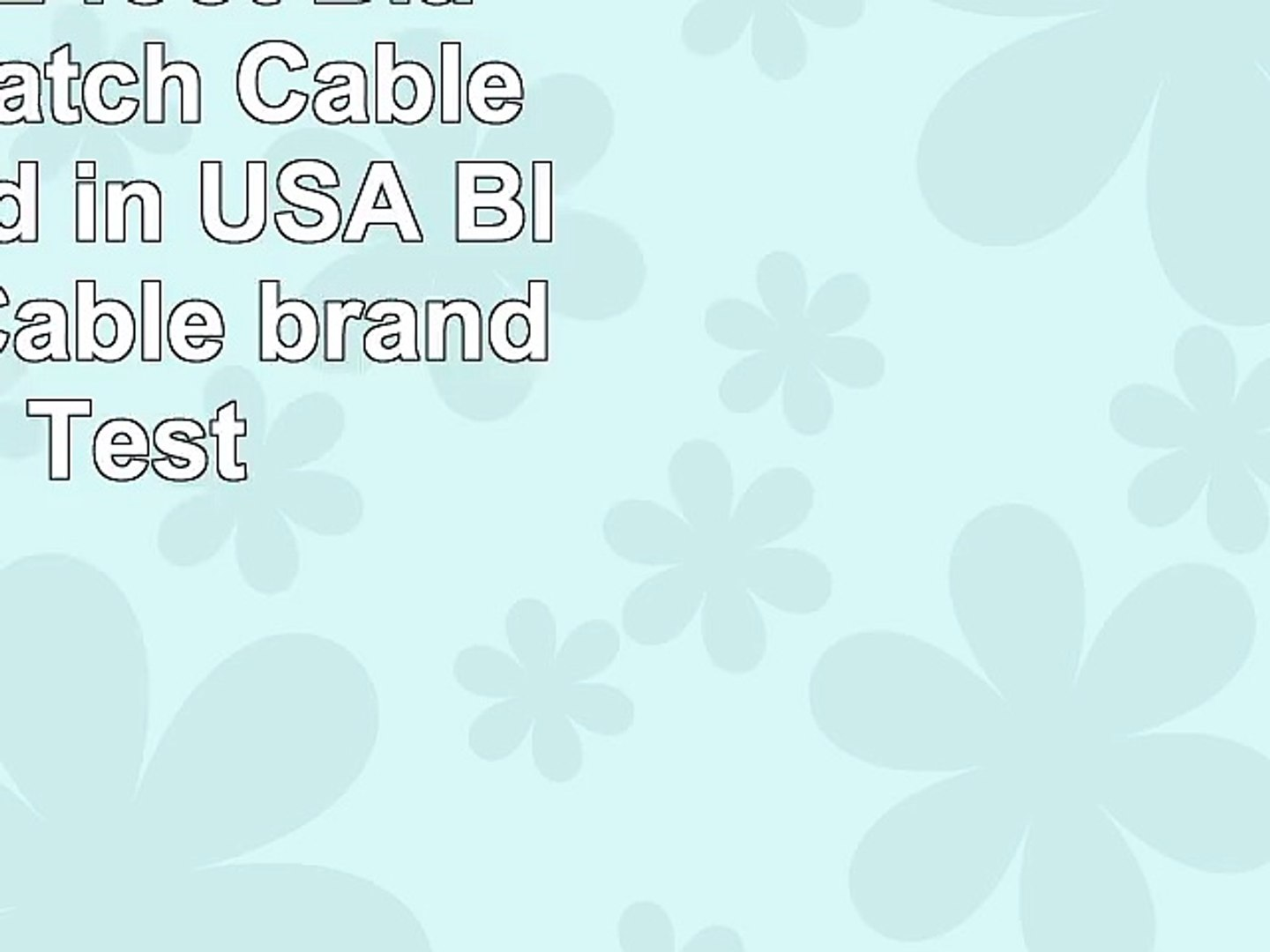 Certified 2 foot Black Cat 6 Patch Cable Assembled in USA Blue Jeans Cable brand with Test