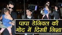 Sunny Leone - Daneil Weber SPOTTED with Nisha Kaur at Mumbai Airport | FilmiBeat