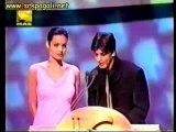 Angelina Jolie With Shahrukh Khan  Filmfare Awards