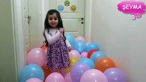 Eğlenceli 100 balon patlatmak / blow up 100 balloons /взорвать 100 шаров / volar 100 globos /