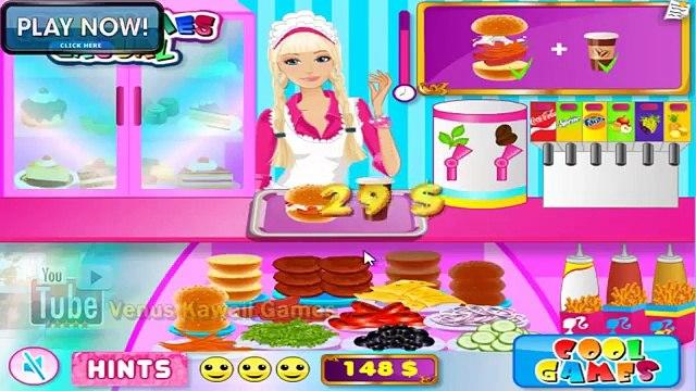 Barbie Fun Cafe Restaurant Game Walkthrough Level 1