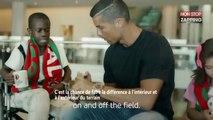Cristiano Ronaldo, Paul Pogba, Lionel Messi : leur émouvante pub pour l'UEFA (vidéo)