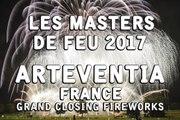 Les Masters de Feu 2017: ArtEventia - Closing Fireworks - Feu d'artifice - vuurwerk