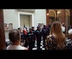 Rentrée en musique 2017 - Représentation des Cadets des marins pompiers au lycée Montgrand de Marseille
