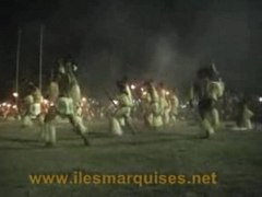 Flambeaux de nuku hiva ILES MARQUISES 2003