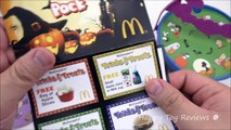 2016 McDONALDS PEANUTS HAPPY MEAL TOYS SNOOPY HALLOWEEN PAILS BUCKETS GREAT PUMPKIN CHARLIE BROWN
