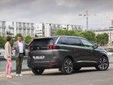 Franck Lagorce au volant du Peugeot 5008 (diaporama vidéo)