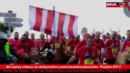 Replay-ambiance3 course medoc 2017 / replay course3 atmosphere Medoc Marathon