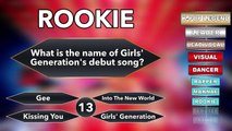 ARE YOU A K-POP LEGEND? K-POP GAME SHOW #1 (Girls Generation)