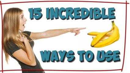 15 incredible ways to use banana peels, which you don't know