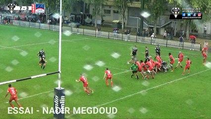 Espoirs CA Brive vs Stade Aurillacois : les essais de la rencontre.