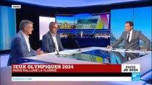 """Jeux Olympiques 2024 - Paris rallume la flamme : """"95% des infrastructures existent déjà"""""""