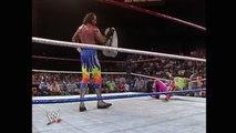 JAKE THE SNAKE ROBERTS ATTACK RANDY MACHO MAN SAVAGE WITH A COBRA - WWF WWE Wrestling - Sports MMA Mixed Martial Arts Entertainment