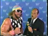 RANDY MACHO MAN SAVAGE INTERVIEW (1987) - WWF WWE Wrestling - Sports MMA Mixed Martial Arts Entertainment