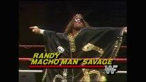 RANDY MACHO MAN SAVAGE WWE DEBUT - WWF WWE Wrestling - Sports MMA Mixed Martial Arts Entertainment