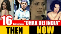 """16 Bollywood Actors from """"CHAK DE! INDIA"""" 2007 