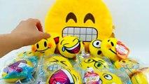 Oeuf géant content dans repas peluche jouets Emoji mcdonalds 2016 playdoh