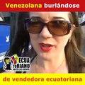 Reportera Venezolana de Teleamazonas se Burla de Vendedora Ambulante