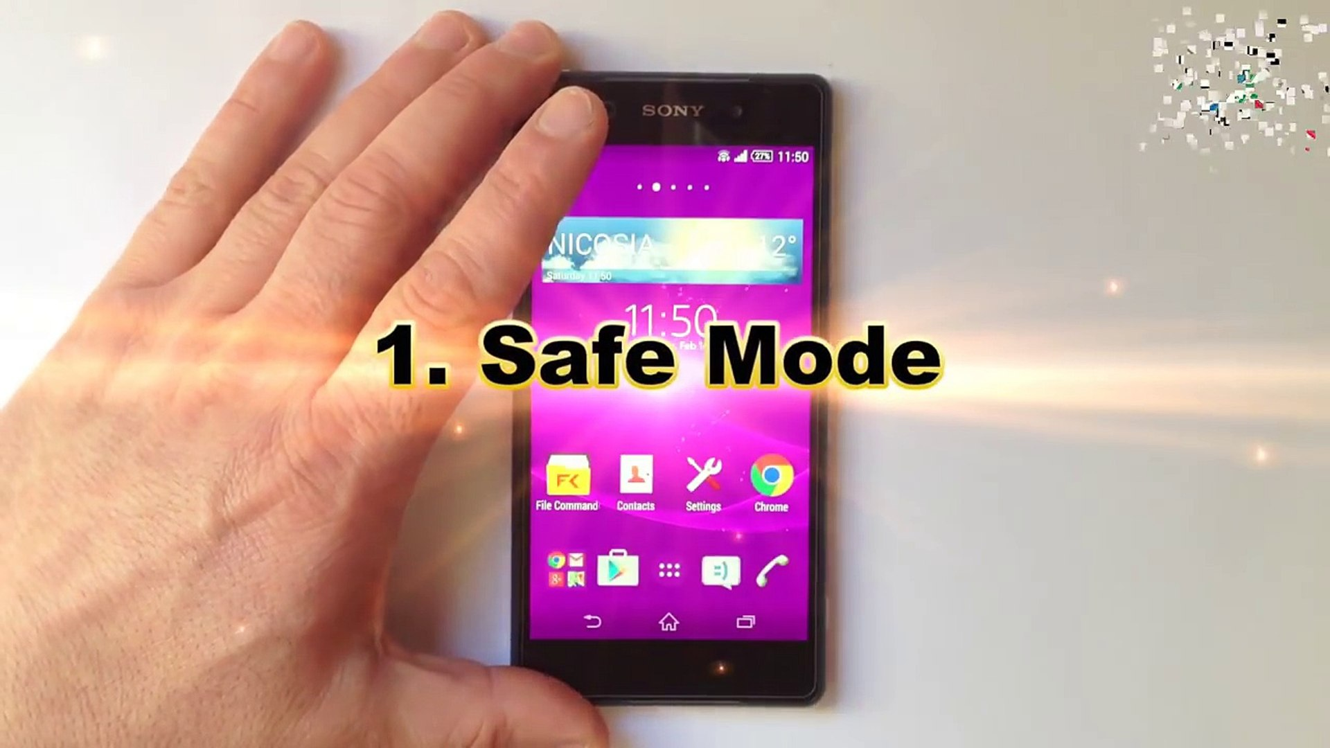 Tips and Tricks Sony XPERIA Z1, Z2, Z3, Z5 - Secrets, Safe Mode, Hidden  Test Developer Menu, Reset