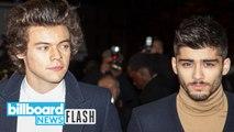 Zayn Malik on Harry Styles: 'Never Really Spoke to Harry'   Billboard News