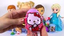 Baby Alive Ovos Surpresas Frozen Peppa Pig Massinha Play Doh Princesas Disney Surprise Eggs Toys