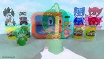 Les couleurs Apprendre la magie Magie masques micro onde jouer pâte à modeler faire semblant avec Pj surprend catboy gekko