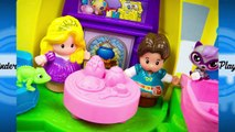Fisher-Price Little People Disney Princess Rapunzels Tower Tangled Toys Rapunzel Flynn Rider