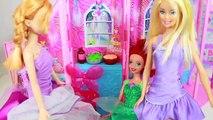 Pomme maison de poupées mal gelé kidnapper nominale Princesse reine neige jouets blanc Disney poison barbie