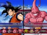 Gohan and Goku SSJ God Fusion into Gokhan Super Saiyan God (DBZ Budokai Tenkaichi 3 Fusion