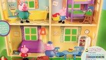 Peppa Pig La Nouvelle Maison Familiale Sons et Lumières Peppas House Lights and Sounds Jouet