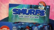 Et des sacs aveugle Bonbons distributeurs perdu le le le le la Smurfs village pez