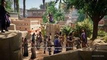 Assassins Creed Origins - Gameplay Exploring Memphis 2017