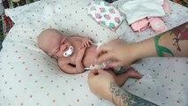 Bébé nouveau née bébé poupée réal vie bébé poupée Robes vers le haut comme nouveau née en changeant
