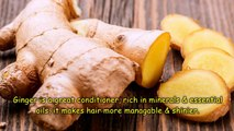 How to get Long Hair, Soft Hair, Smooth Hair and Healthy Hair with Ginger - Magical Remedy